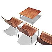 Parri Big Easy Lounge Chair - Veneer - Brick