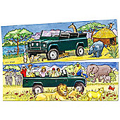 Bigjigs Toys BJ056 Duo Puzzle Safari