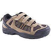 Mountain Peak Mens Minster Brown Hiking Shoes - Brown