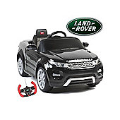 Range Rover Evoque - 12V Licensed Electric Ride On Car - Black