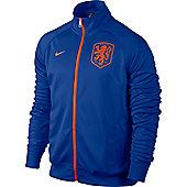 2014-15 Holland Nike Core Trainer Jacket (Blue) - Blue
