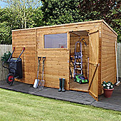 12ft x 8ft Tongue & Groove Pent Shed