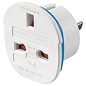 Go Travel UK to Americas Trans-World Travel Adaptor Plug