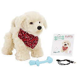 Georgie Interactive Puppy Soft Toy