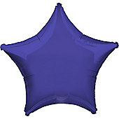 Purple Star Balloon - 19' Foil (each)