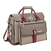 Babymoov Free Hand Changing Bag - Hibiscus/Taupe