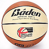 Baden Elite Replica Basketball with EB Logo Size 5