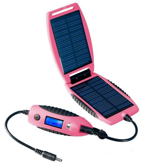 PowerTraveller Powermonkey eXplorer Solar Power Charger Device - Pink.