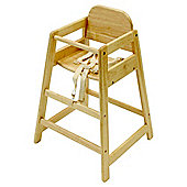 East Coast Cafe Stacking High Chair, Antique