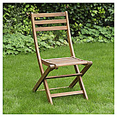 Wooden Folding Bistro Chair - Windsor