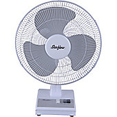 "Stirflow SFG12WB White 12"" 3 Speed Wall & Desk Fan"