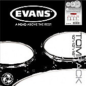 Evans ETP-EC2SCTD-R EC2 Coated SST Drum Head Pack (Rock)