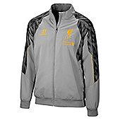 2013-14 Liverpool Warrior Presentation Jacket (Silver) - Grey