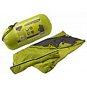 Summit Thermal Single Envelope Sleeping Bag 2 Season Green