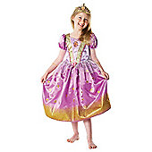 Rapunzel Glitter Costume - Medium (Age 5-6)
