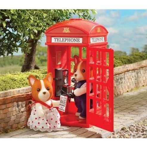 Sylvanian Families - Red Telephone Box
