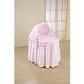 Leipold Sweety Full Length Hood Crib in Pink