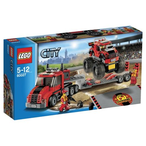LEGO City Town Monster Truck Transporter 60027