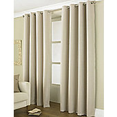 "Country Club Thermal Blackout Eyelet Curtains 66"" X 90"", Linea Natural"
