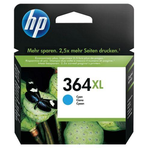 HP 364XL High Yield Cyan Original Ink Cartridge