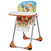 Chicco Polly 2-in-1 Highchair, Wood Friends