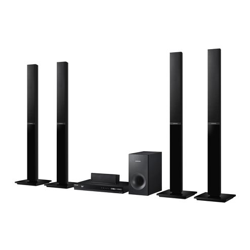 Samsung HT-H4550 (5.1Ch) Speaker 3D Blu-ray and DVD Home Theatre System