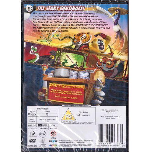 Kung Fu Panda Secrets Of The Furious Five (DVD)