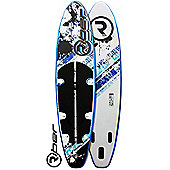 """Riber Deluxe 11"""" Inflatable SUP (Blue & White)"""