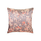 Pied A Terre Digital Print Leaf Cushion, Coral