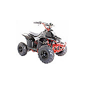 110cc Thunder Cat Quad Bike All Black