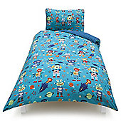 Tesco Kids Robotliens Single Duvet Set