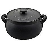 Denby Ceramic Casserole Dish, Black