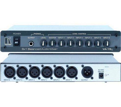 Kramer Electronics Va15Xl 6 Input Balanced Audio Mixer