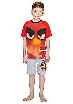 Angry Birds Shorts Pyjamas - Red