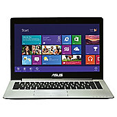 "ASUS S400CA VivoBook 14.1"", Intel Core i7, 4GB, 500GB Touchscreen Dark Grey Laptop"