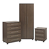 Ideal Furniture New York Bedroom Collection - Wenge