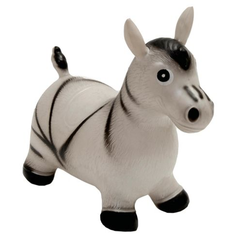 Happy Hopperz Zebra Horse