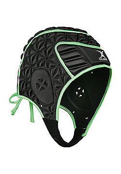 Gilbert Evolution Rugby Headguard - Black