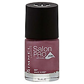Rimmel London Salon Pro with Lycra Nail Polish 307 Grape Sorbet