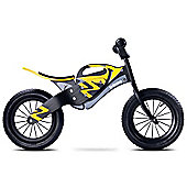 Caretero Enduro Wooden Balance Bike (Black/Yellow)