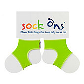 Sock Ons Brights Lime 0-6 month