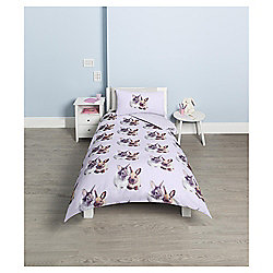 Kids Photographic Bunny Single Duvet Set