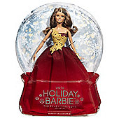 Barbie 2016 Holiday Peace Hope Love Collection Doll Red Skirt