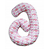 By Carla Cuddle Me Pillow (Pink Elephant)
