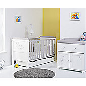 Obaby Winnie the Pooh Dreams and Wishes 3 Piece Nursery Set