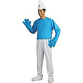 Deluxe Smurf - Adult Costume Size: 44-46