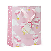 Mothercare Hot Air Balloon Pink Gift Bag