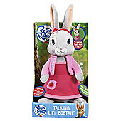 Peter Rabbit Talking Soft Toy - Lily Bobtail