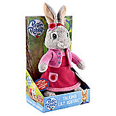 Peter Rabbit Talking Plush - Lily Bobtail