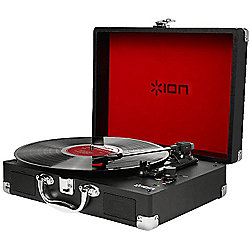 Ion Vinyl Motion Portable Turntable (Black)